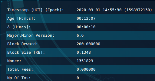 Block 525,991 safex mining reward increase 2nd